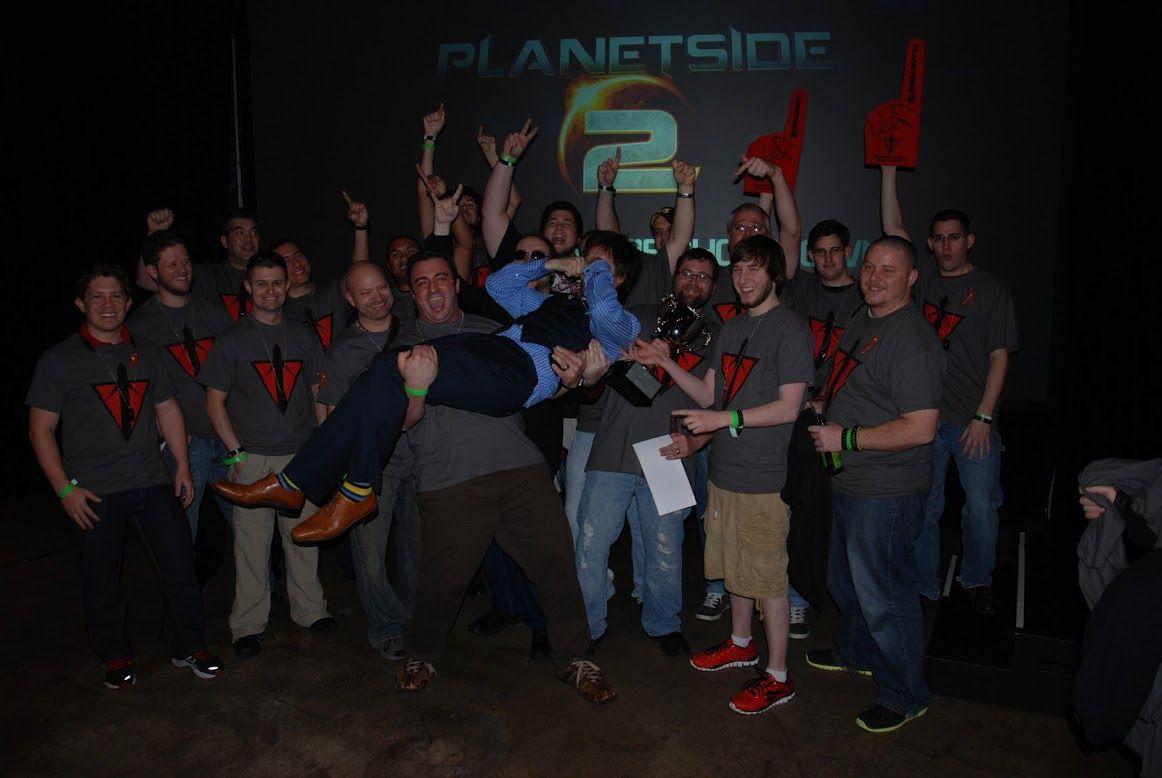 Members of BWC at the Planetside Live event in Los Angeles