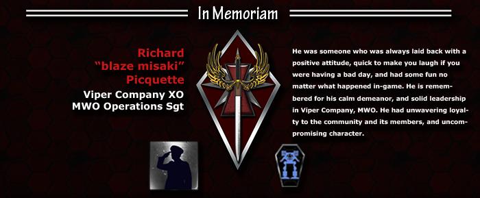 Memorial for blaze misaki