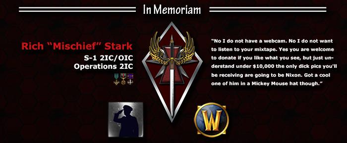 Memorial for Mischief